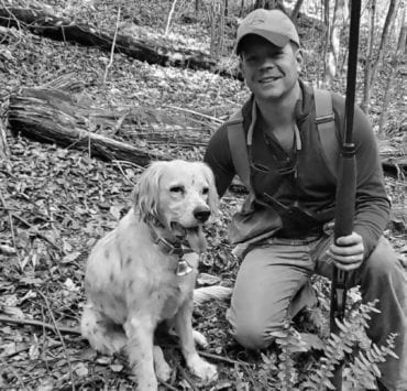 John Culclasure of Congressional Sportsmen's Foundation grouse hunting