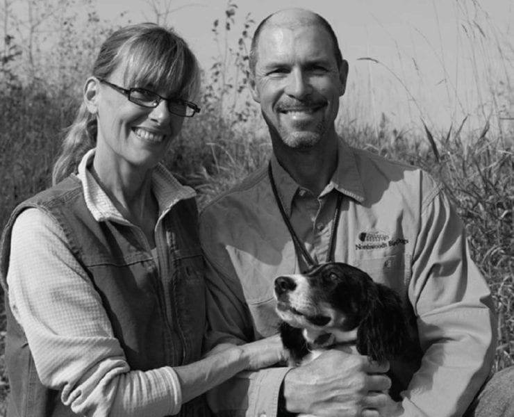 Jerry Kolter and Betsy Danielson of Northwoods Bird Dogs